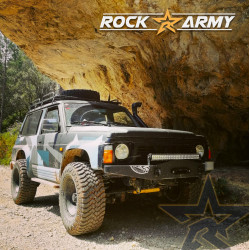 Paragolpes Rock Army Y60 (ANG)